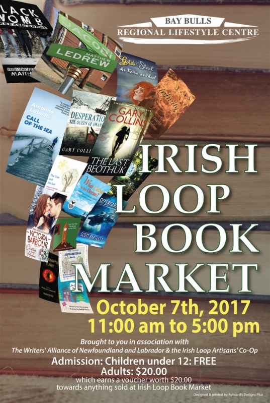 Irish Loop Book Market Poster 2017